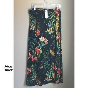 Maxi skirt floral large